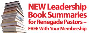 Renegade Executive Pastor Coaching Network - Abandon Average