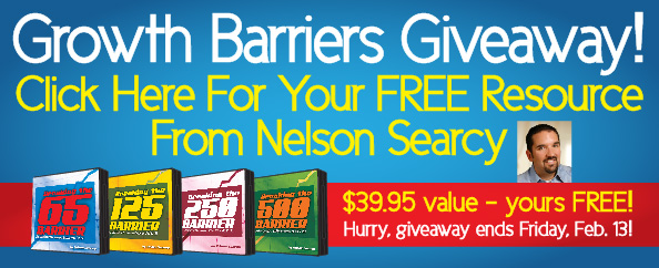 Growth Barriers Giveaway