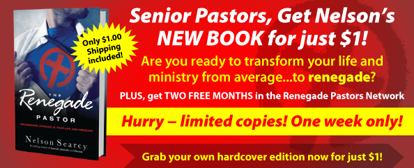New Book: The Renegade Pastor