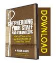 BRAND NEW: Shepherding Your Staff